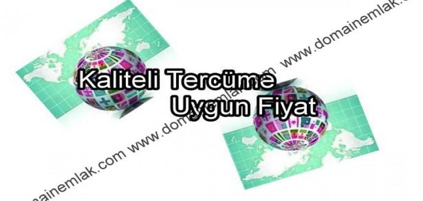 Kaliteli Tercume Uygun Fiyat